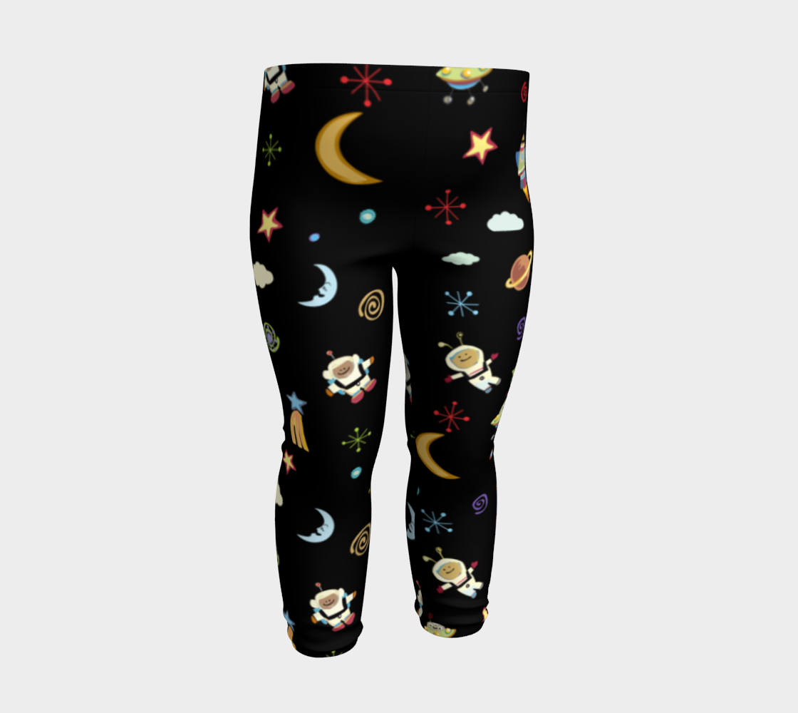 Spaced Out Kids Leggings preview #3
