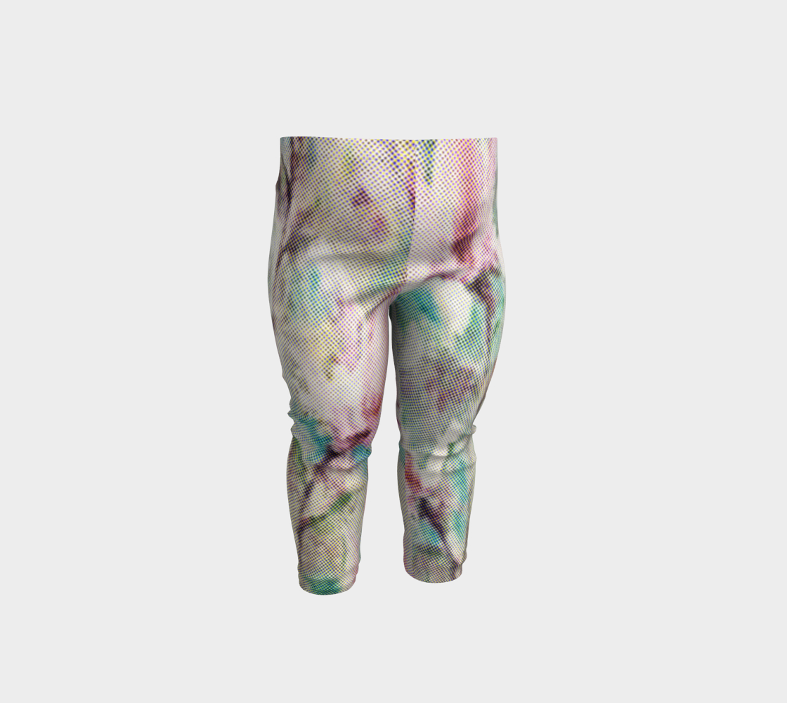 Baby Leggings with a Rose Touch by Painterly Cindy and More preview