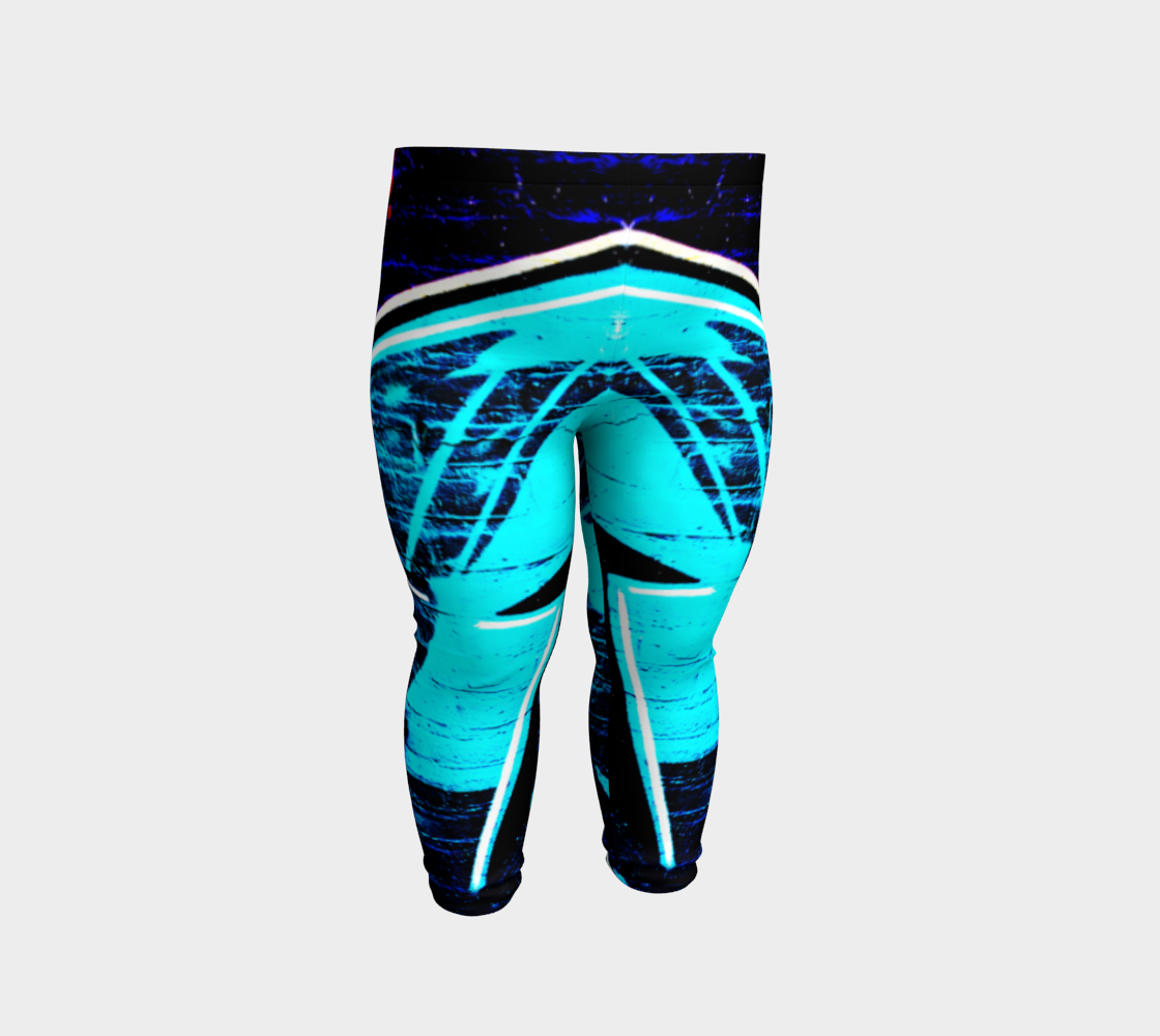 Graffiti 14 Baby Leggings preview #2