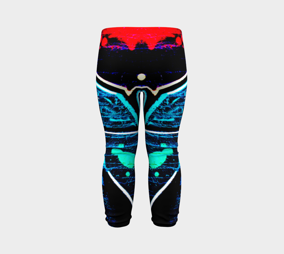 Graffiti 14 Baby Leggings preview #7