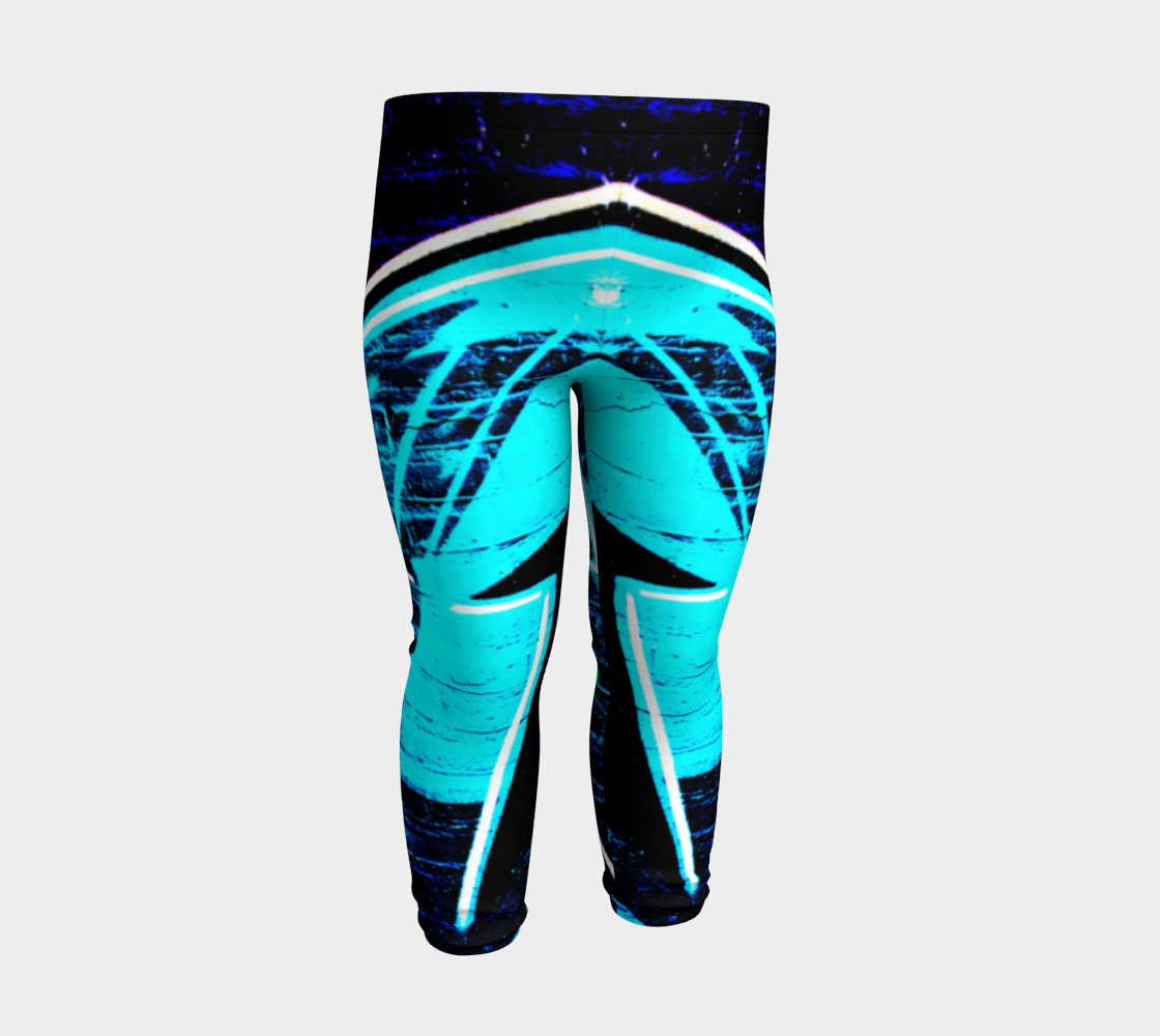 Graffiti 14 Baby Leggings preview #3