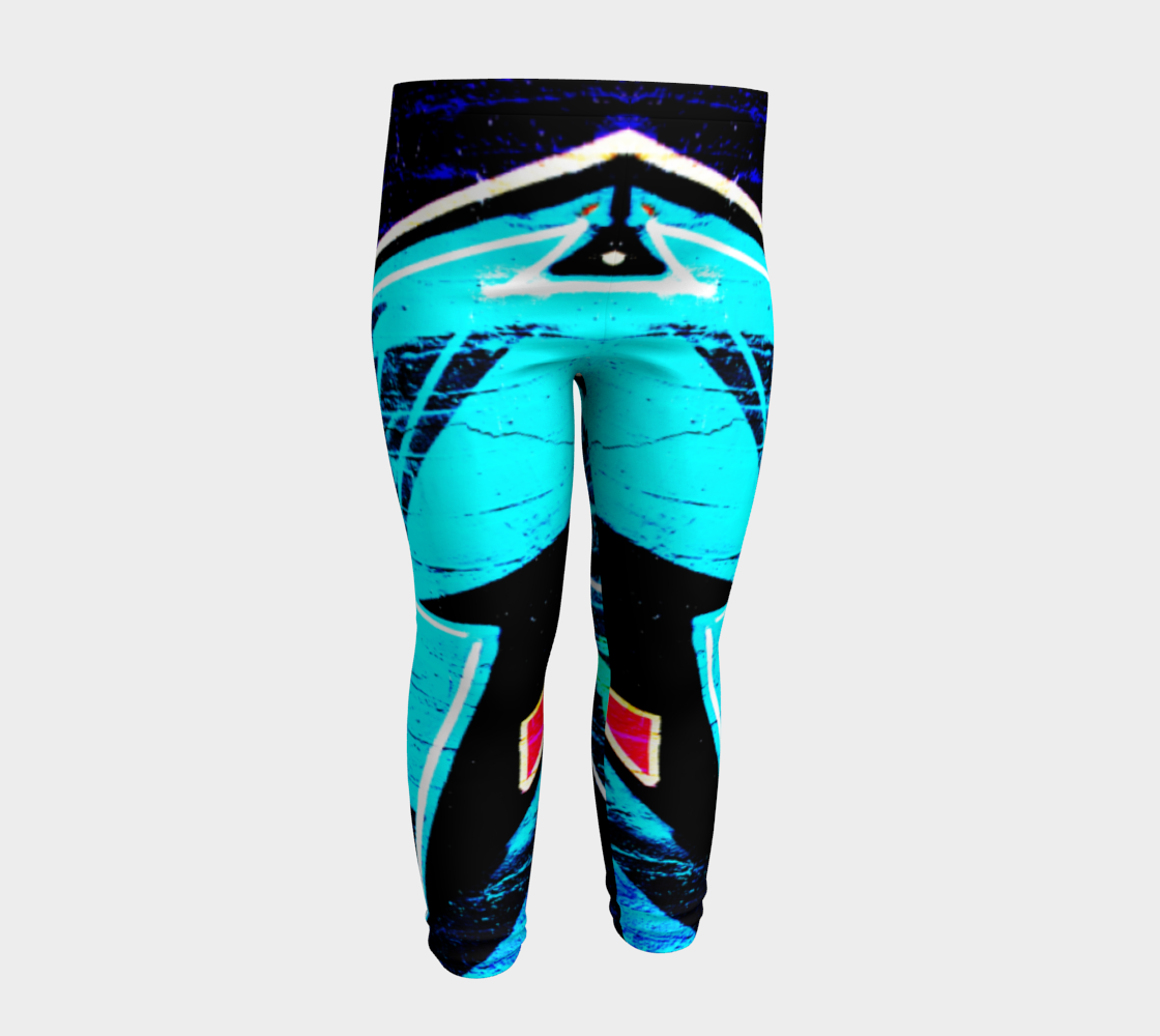 Graffiti 14 Baby Leggings preview #4
