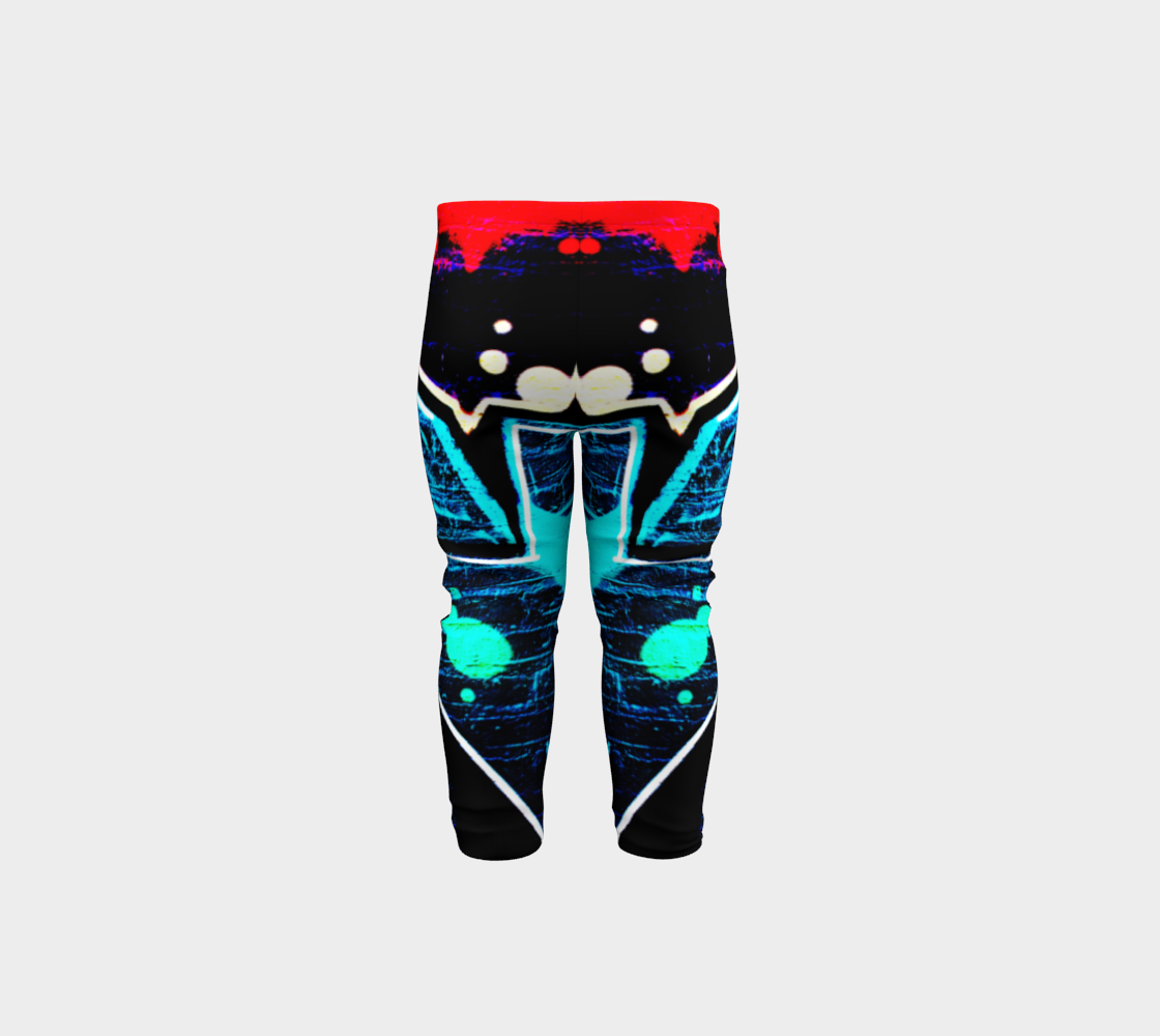 Graffiti 14 Baby Leggings preview #5
