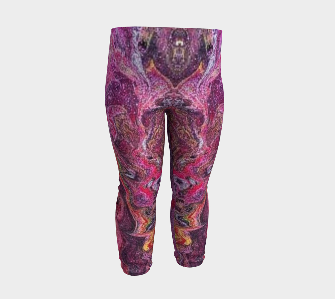 pink glitter baby leggings preview #3