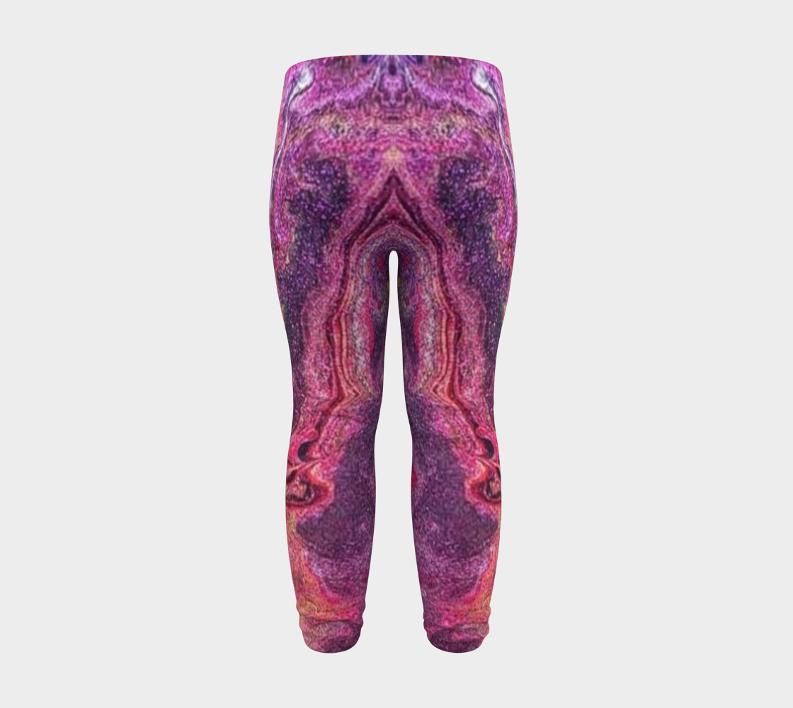 pink glitter baby leggings preview #8