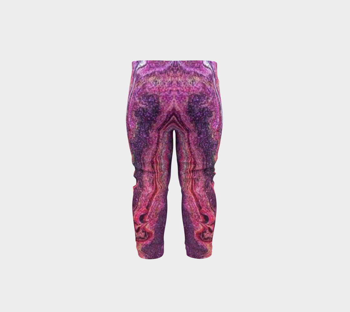 pink glitter baby leggings preview #5