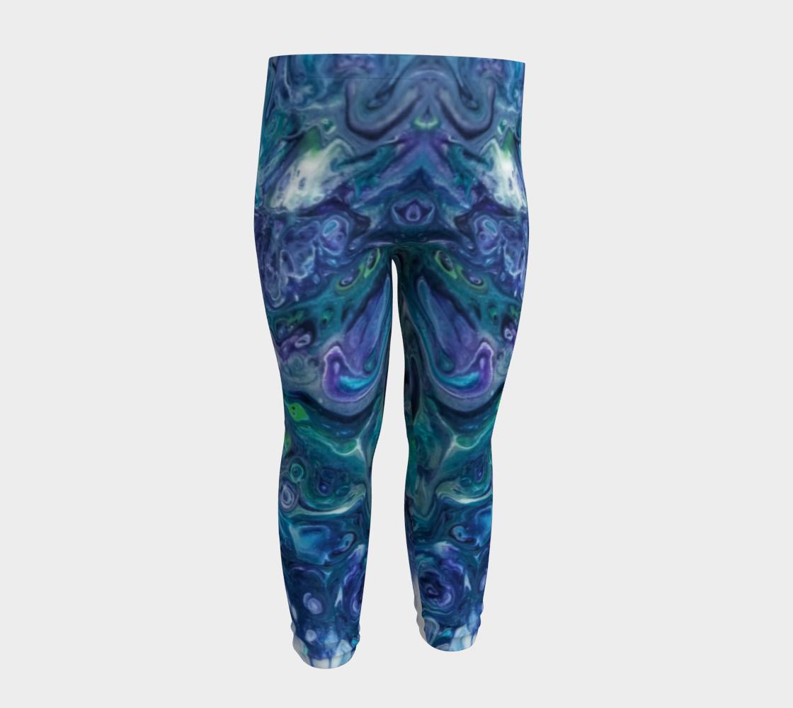 purple mist baby leggings preview #4