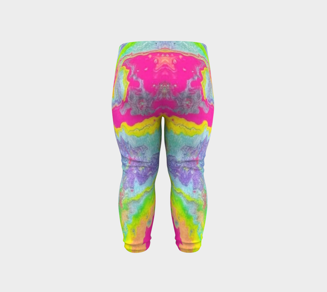 pink sparkle baby leggings preview #6