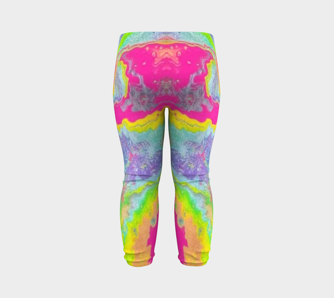 pink sparkle baby leggings preview #7