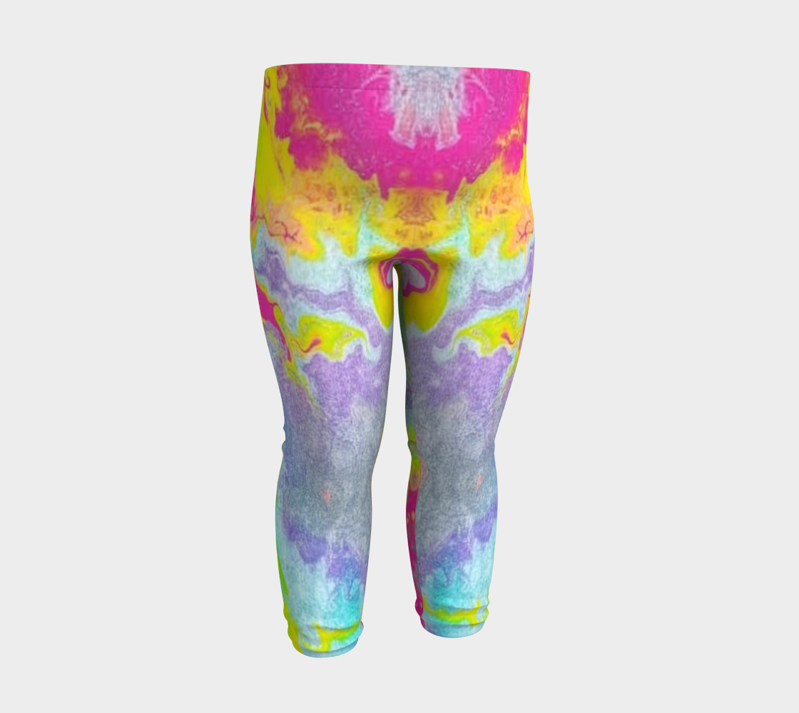 pink sparkle baby leggings preview #3
