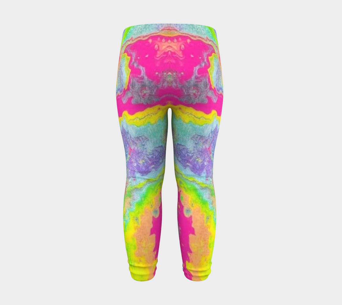 pink sparkle baby leggings preview #8