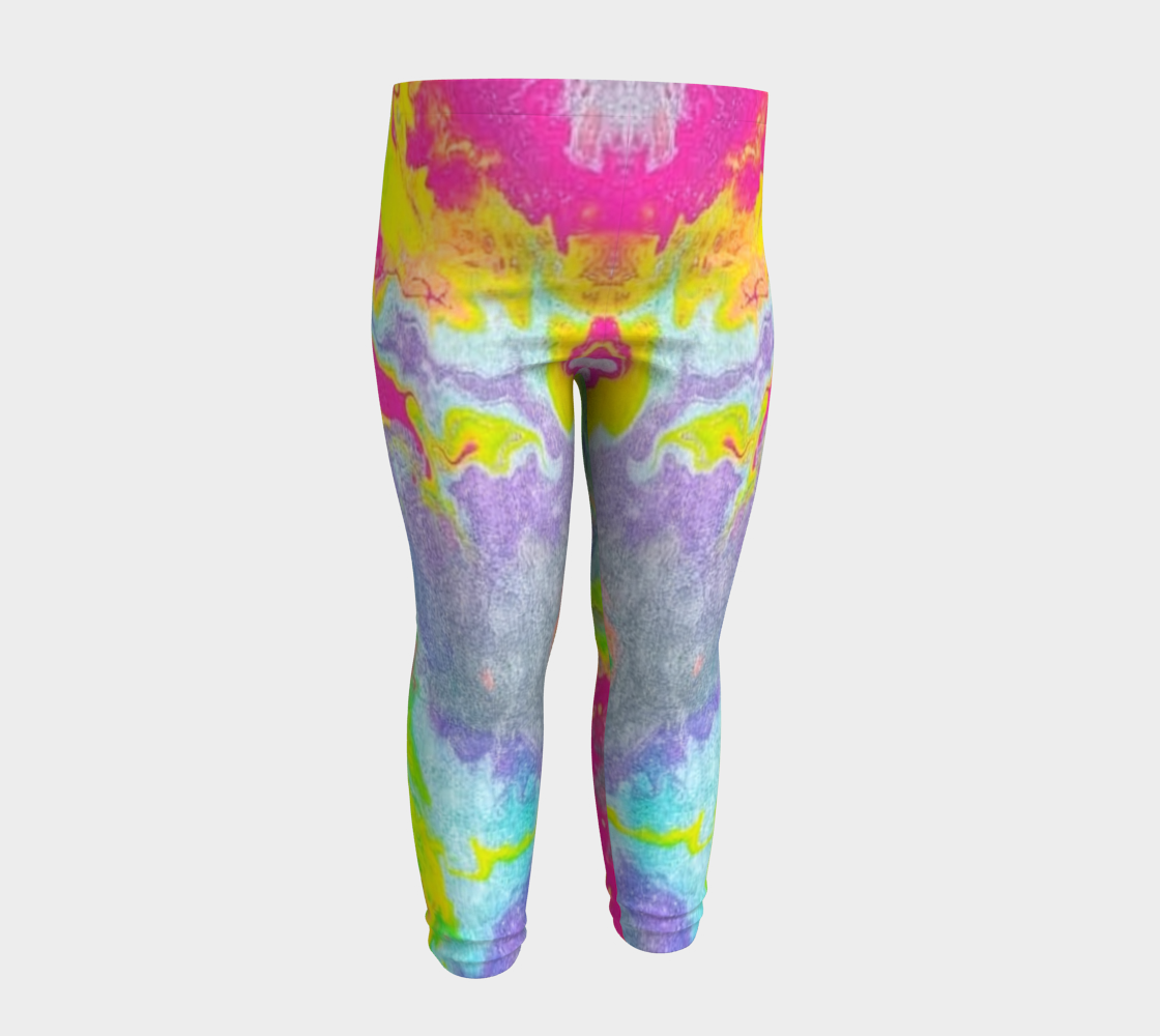 pink sparkle baby leggings preview #4