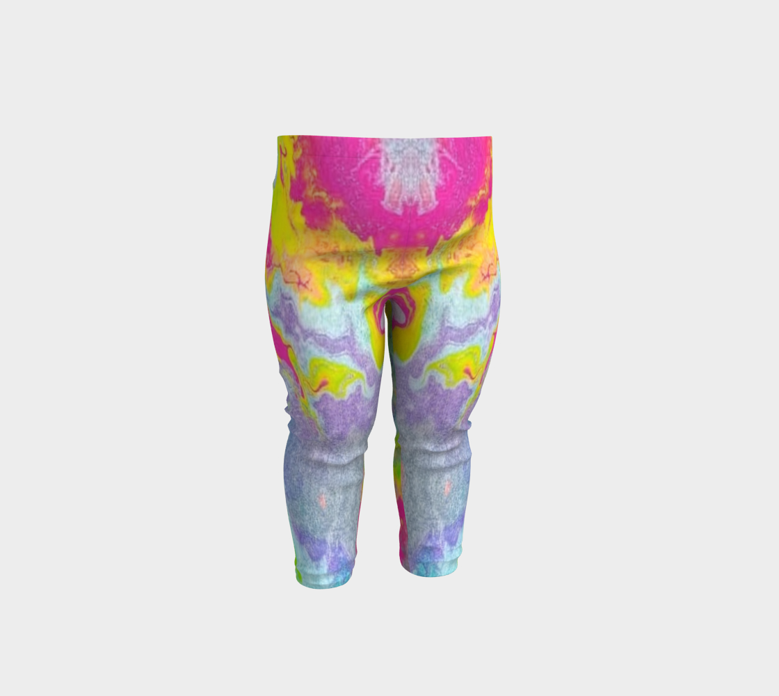 pink sparkle baby leggings preview