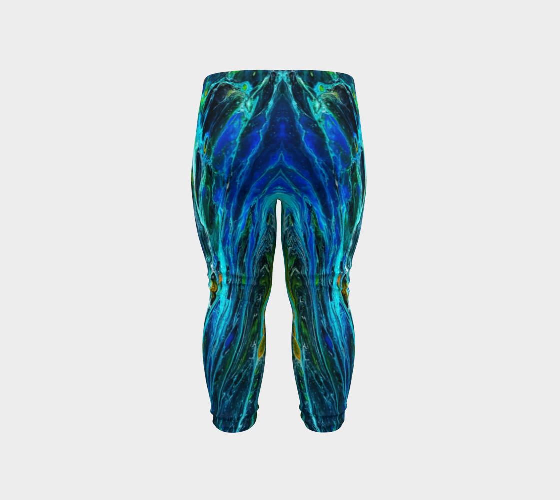 peacock baby leggings preview #6