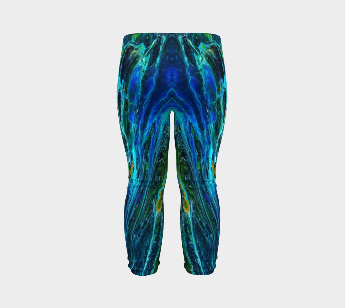 peacock baby leggings preview #7
