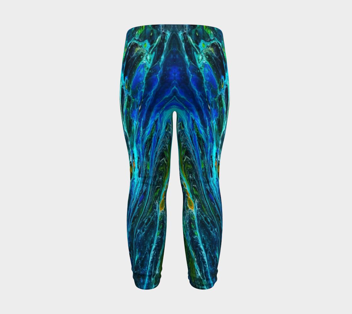 peacock baby leggings preview #8