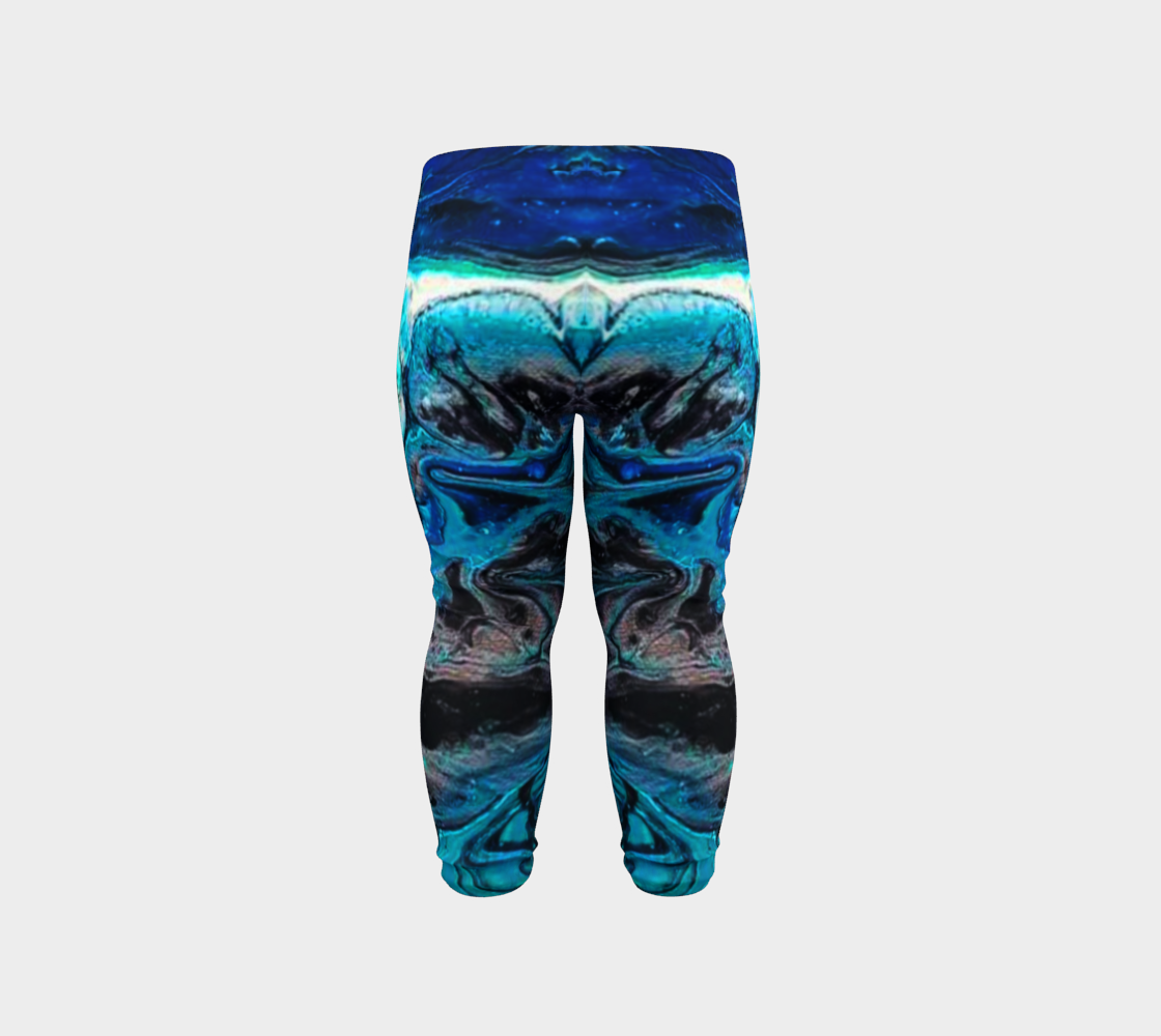 water abstract 1 baby leggings preview #6
