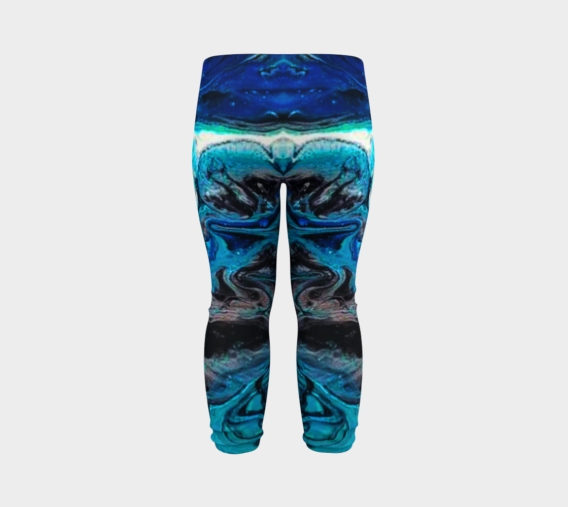 water abstract 1 baby leggings preview #7