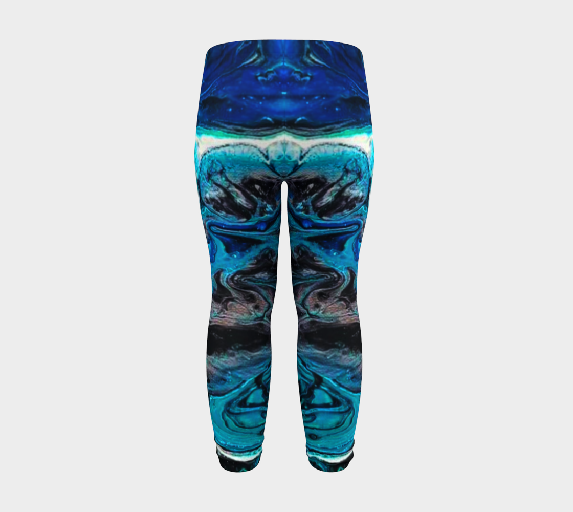 water abstract 1 baby leggings preview #8