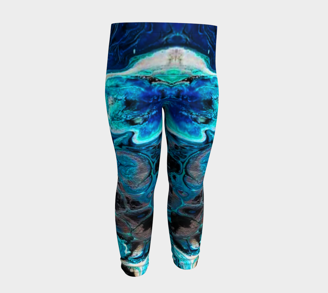 water abstract 1 baby leggings preview #4
