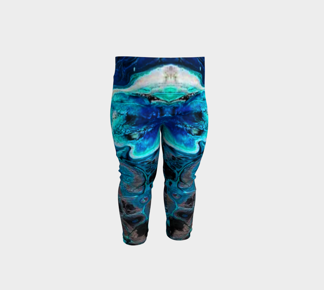 water abstract 1 baby leggings preview