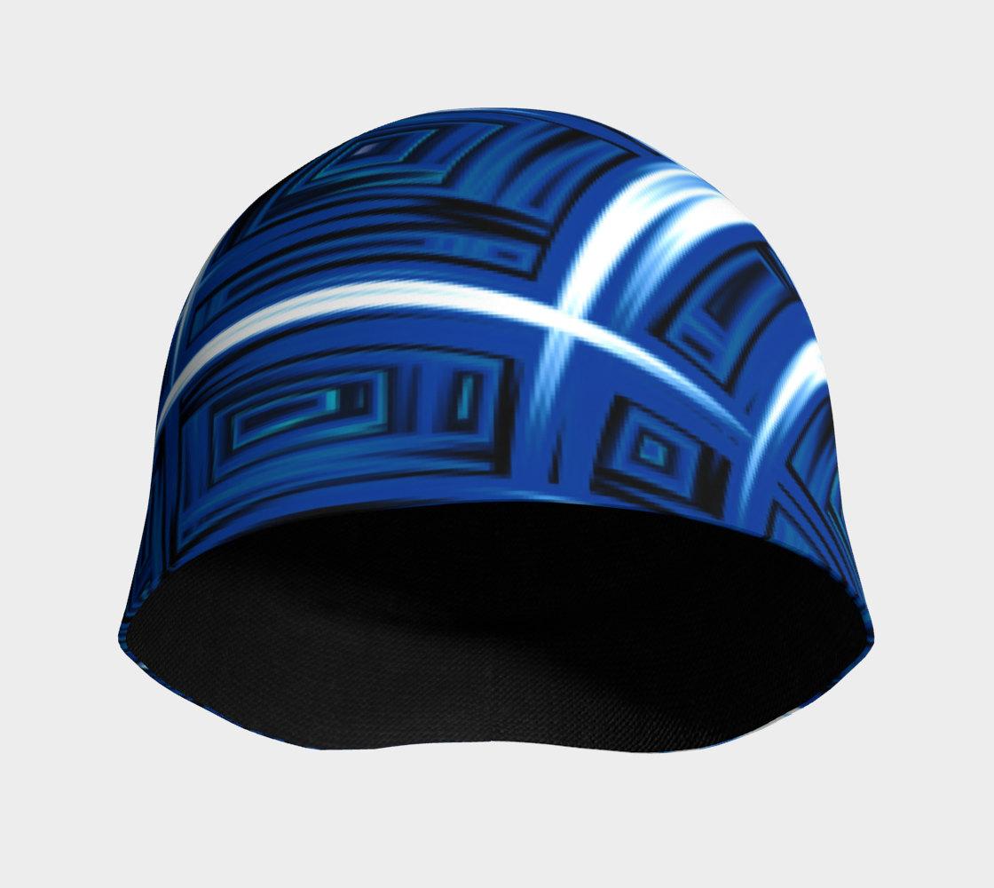 Windows to the Soul Blue Beanie preview #3