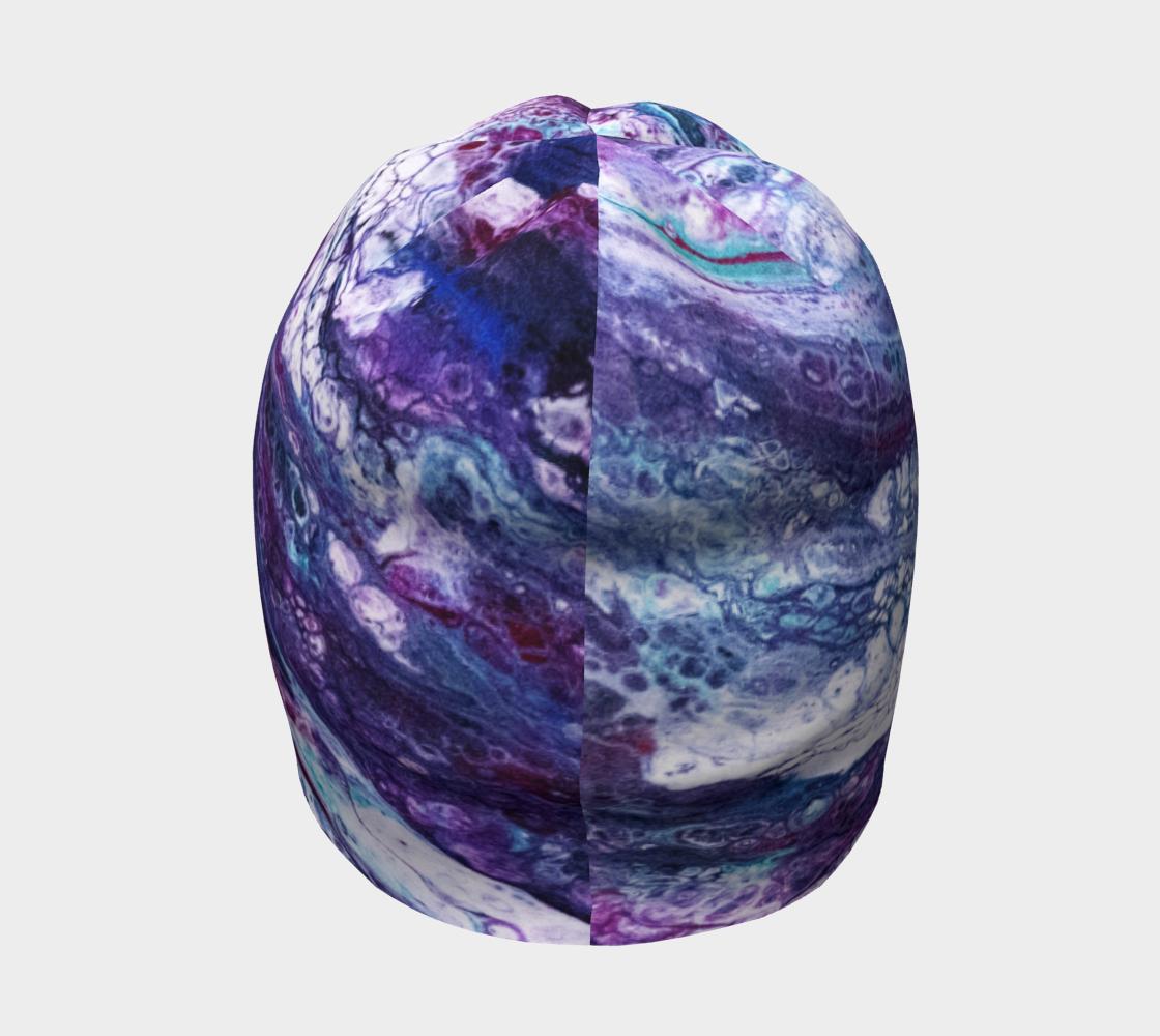 Purple Reigns Acrylic Pour Art preview #4