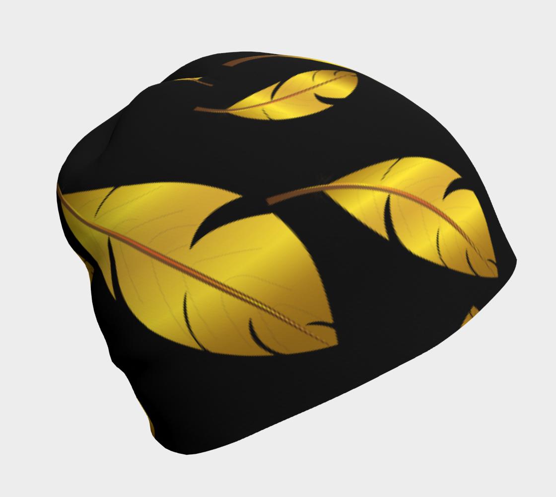 Peaceful Slumber - Gold Feathers aperçu