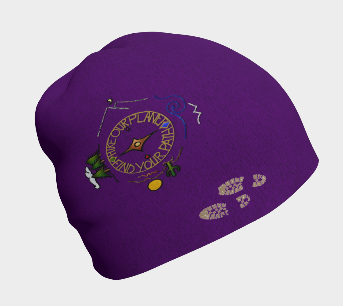 Hike Our Planet Soul Compass On Purple preview