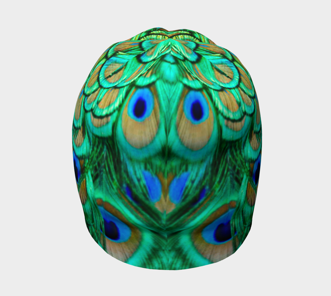 Peacock Feathers Reflection preview #4
