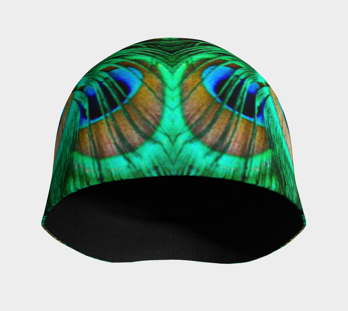 Peacock Feathers Reflection preview #3