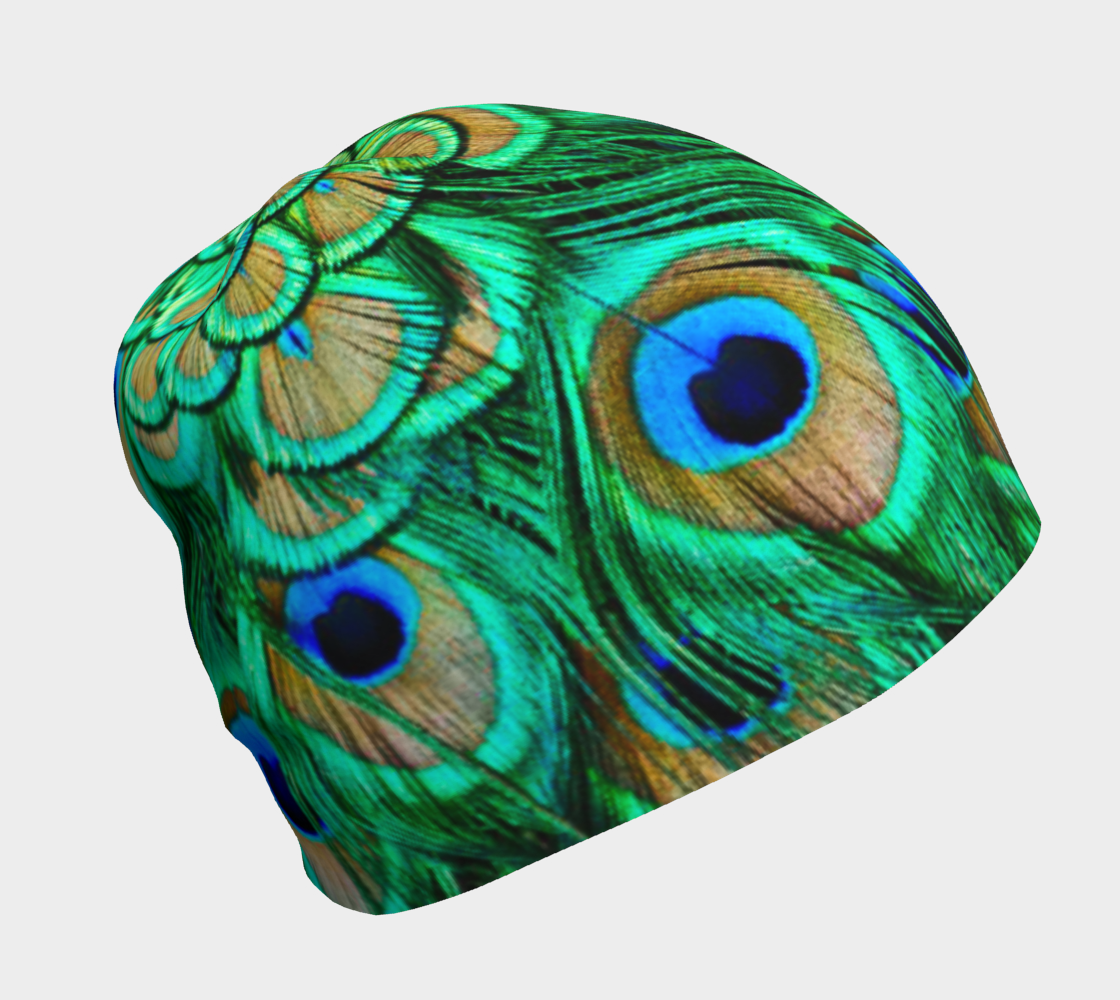 Peacock Feathers Reflection preview