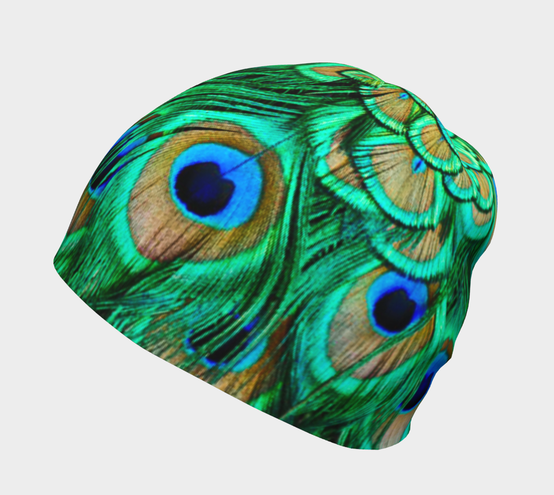 Peacock Feathers Reflection preview #2