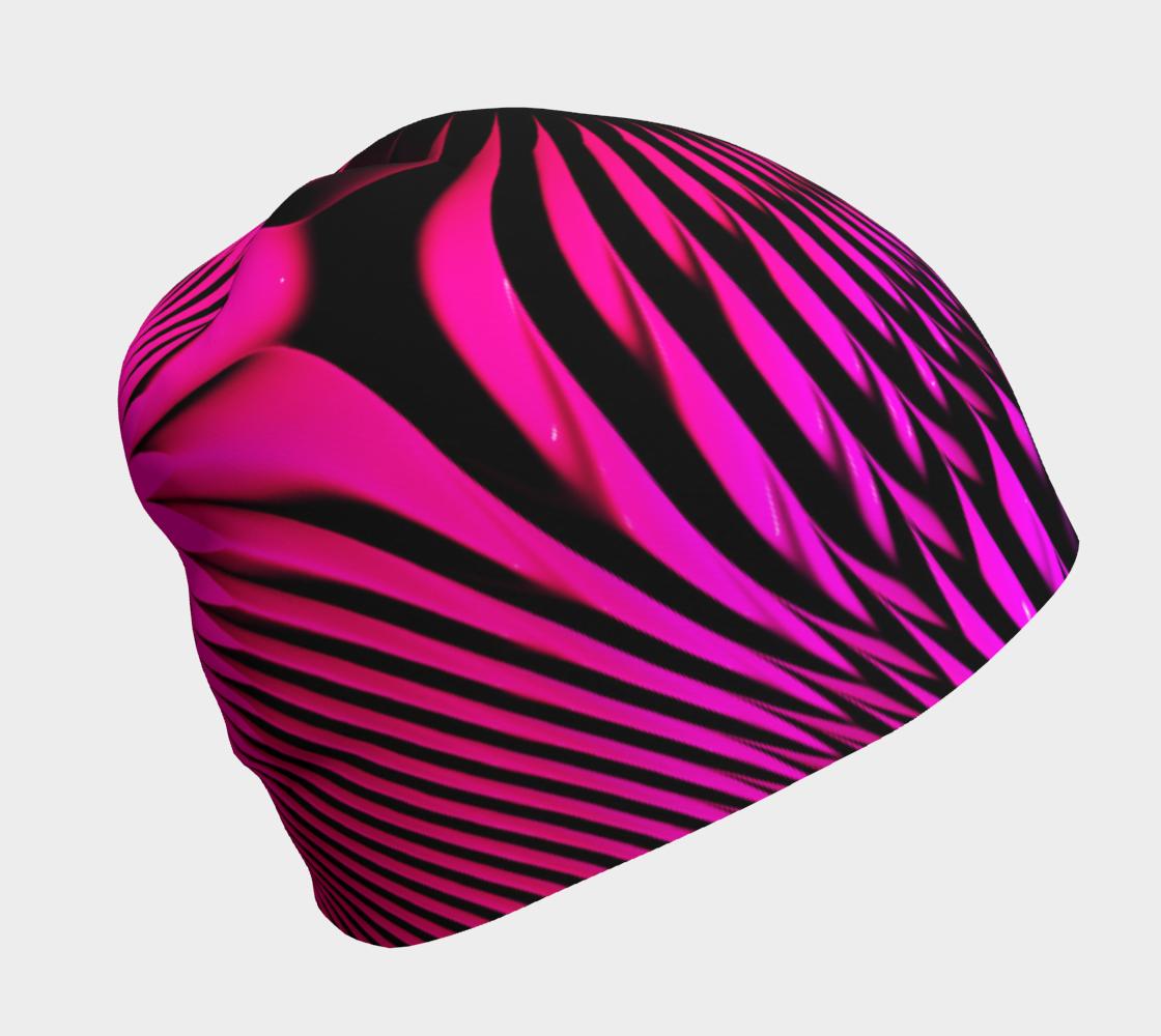 Aperçu de pink hyper stripe beanie