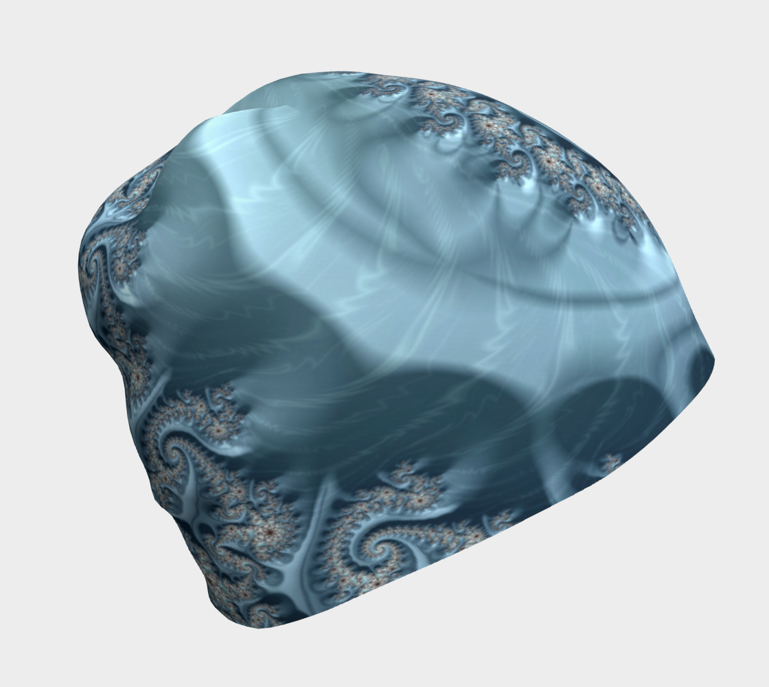 Aperçu de blue ammonite beanie