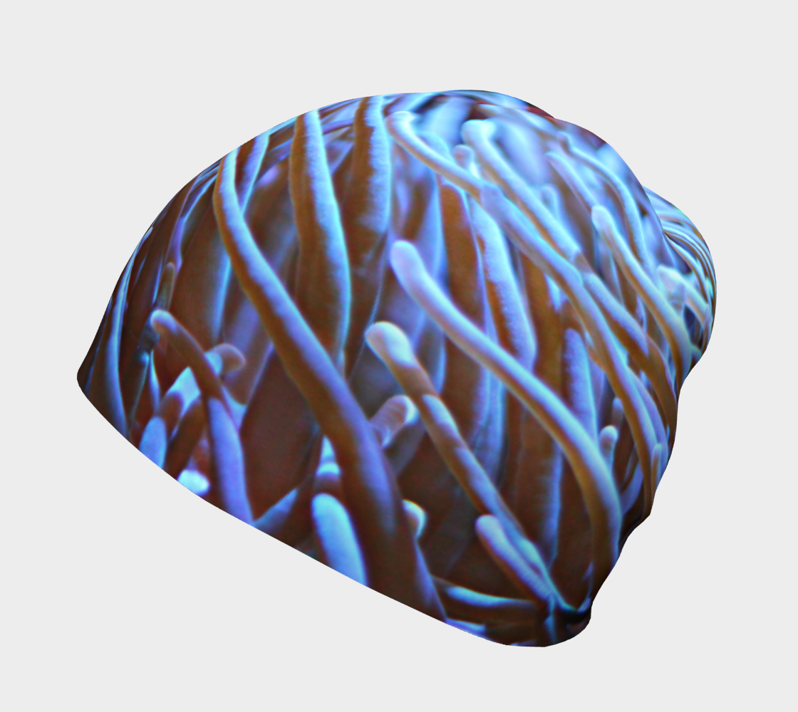 Anemone and Clown Fish Beanie preview #2