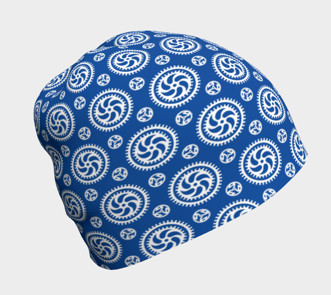 Aperçu de Bike Chainring Beanie - blue