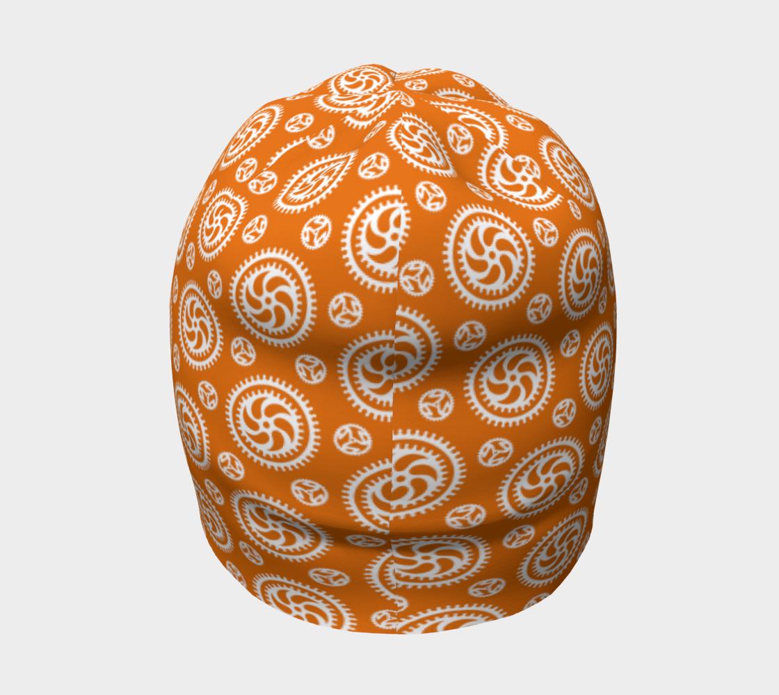 Aperçu de Bike Chainring Beanie - orange #4