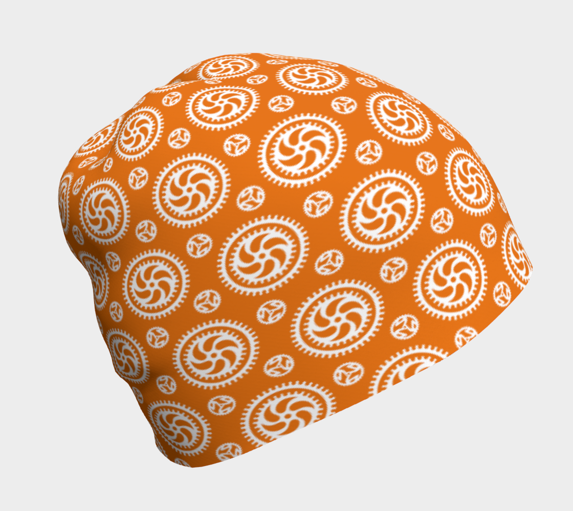 Aperçu de Bike Chainring Beanie - orange