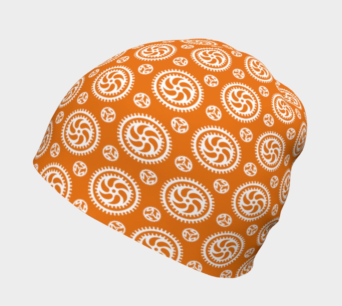 Aperçu de Bike Chainring Beanie - orange #2