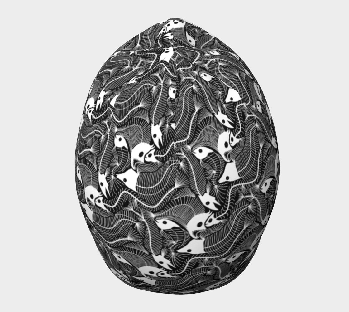 Aperçu de Fish Bones pattern in black and white #5