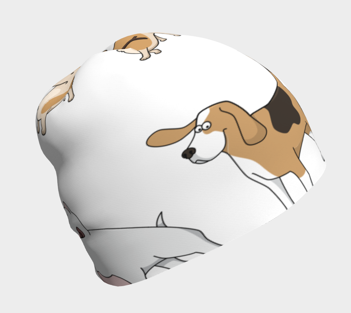 Assorted Dogs 2 Beanie preview