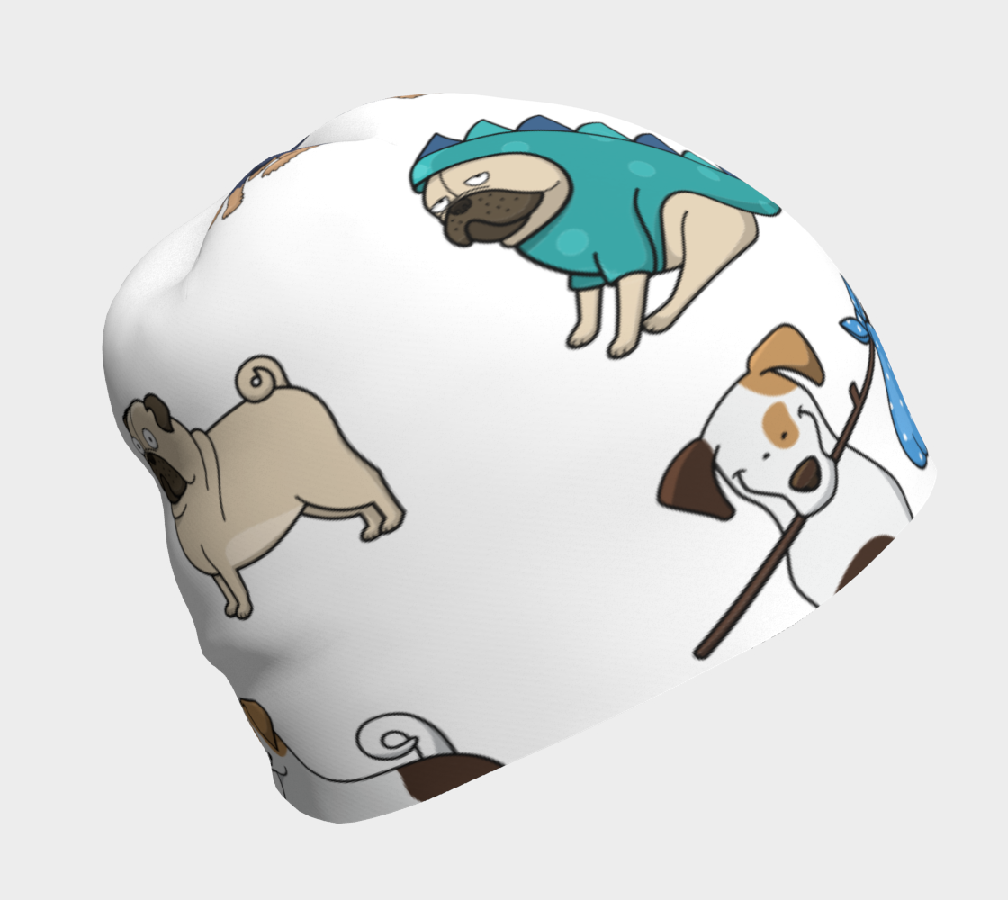 Assorted Dogs 3 Beanie preview