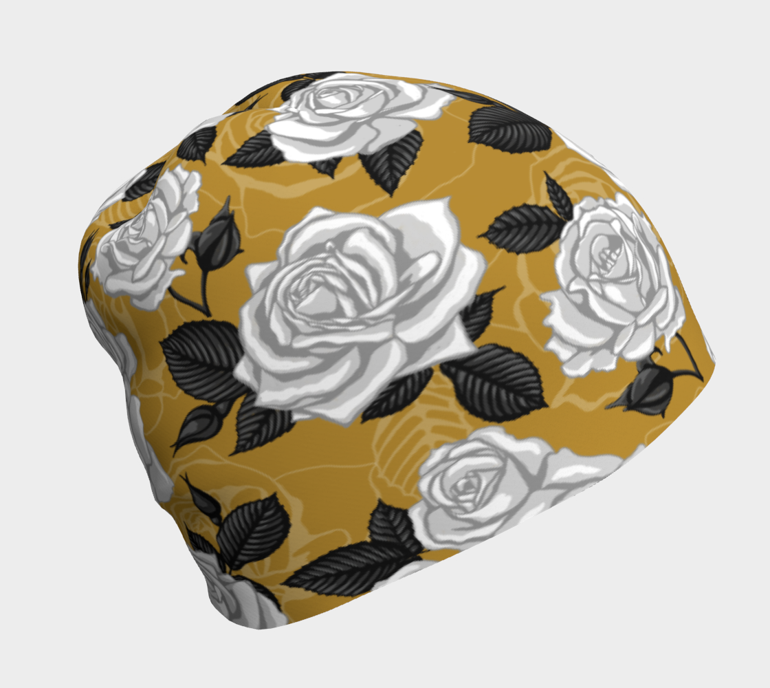 Vintage Roses - Beanie preview