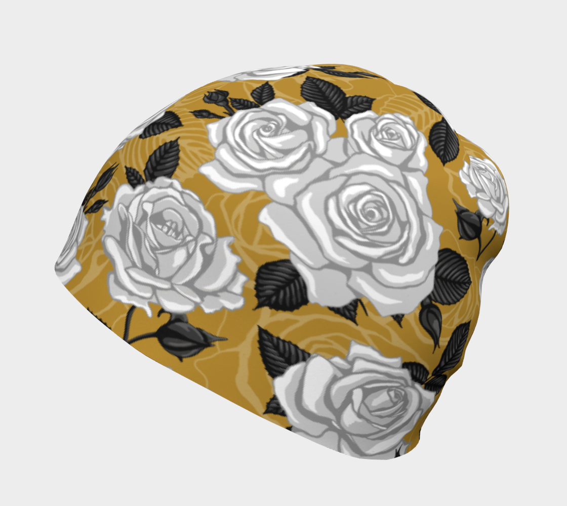 Vintage Roses - Beanie preview #2
