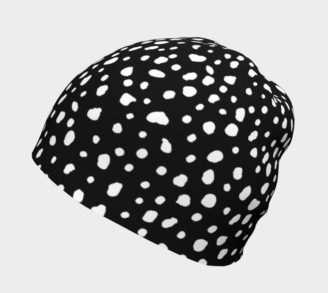 Reverse Dalmation - Beanie preview #2