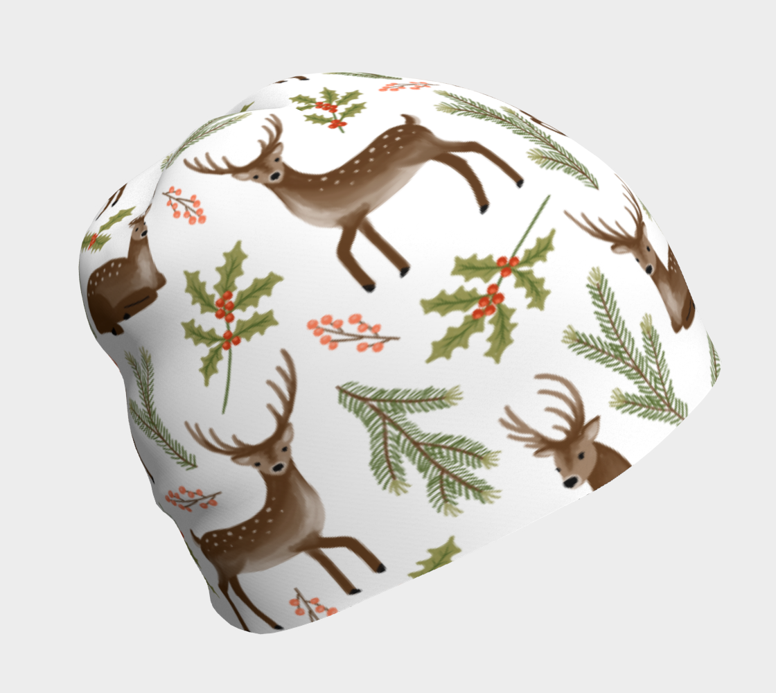 Winter Deer - Beanie preview