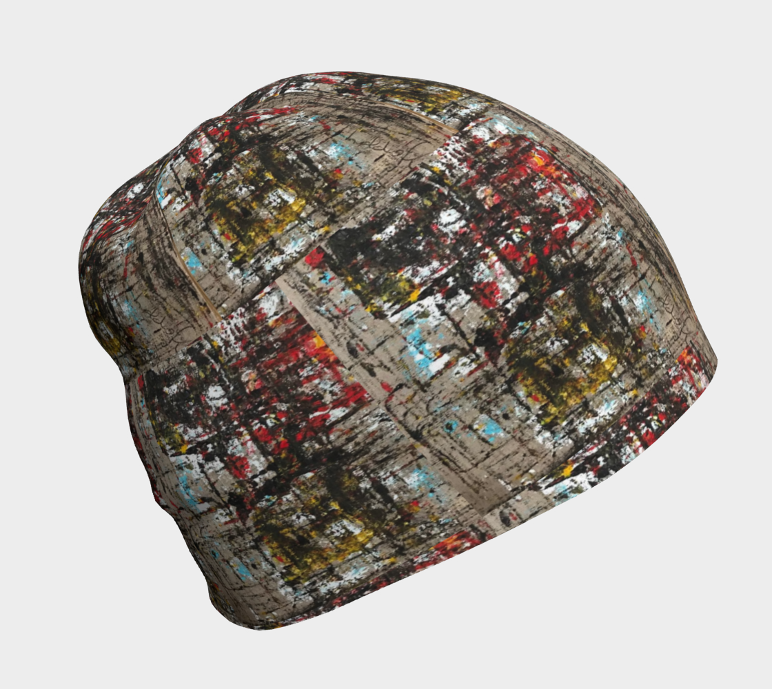 Woods and Vines Abstract Beanie preview