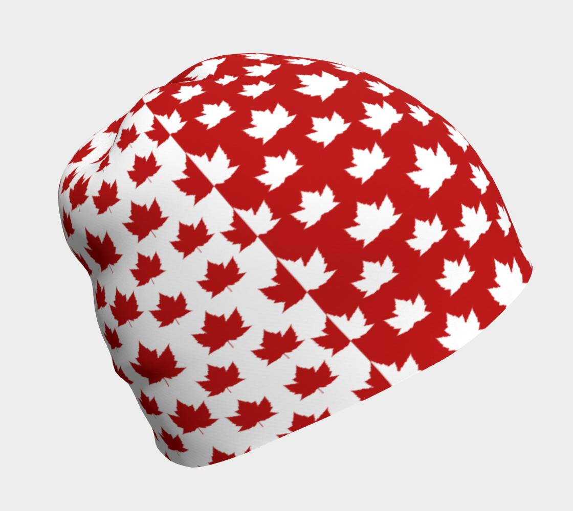 Canada Beanie Cap Canada Toque 2 Tone preview