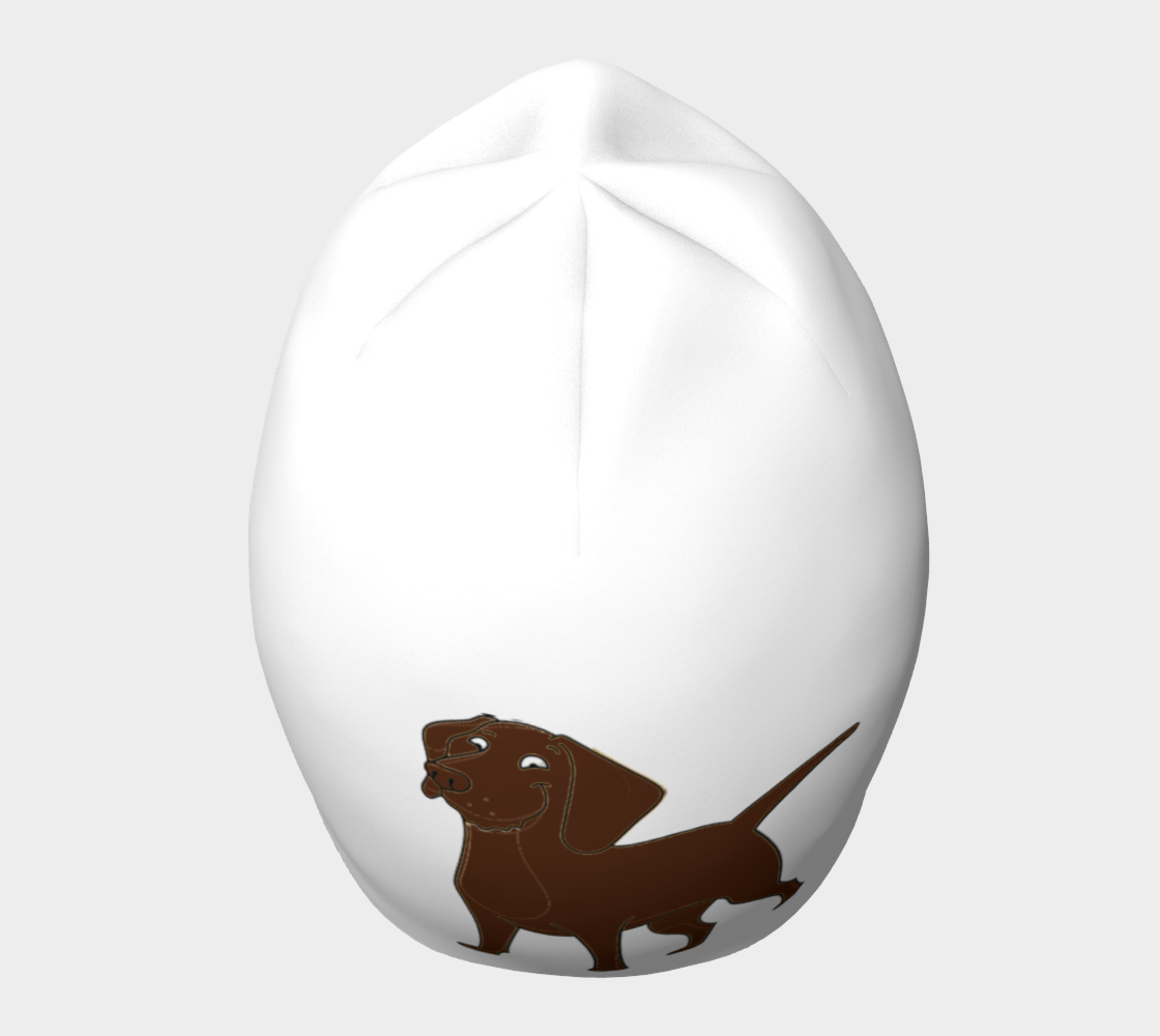 Labrador Retriever chocolate cartoon beanie preview #5